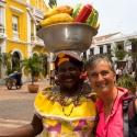 Fruit Seller Cartagena, Colombia
