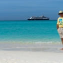 Pat in Half Moon Cay Bahamas