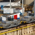290 HP Mitsubishi locomotives known as mules on the Panama Canal