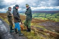 Grouse Shoot on High Blakey Moor