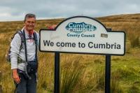 Entering Cumbria on the B6270