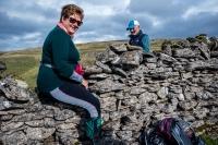 Stone wall climbing