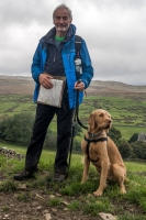 Dave and Alfie near Shap
