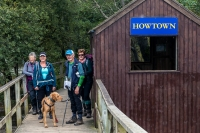 Howtown Ferry dock on Ullswater