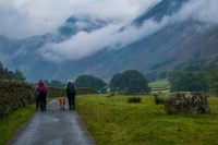 Heading off in the Grisedale Valley near Patterdale