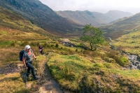 Hike up to  Greenup Edge from Far Easedale