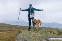 Dave and Alfie on Green Up Pass