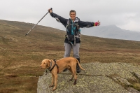 Lorna and Alfie on Green Up Pass