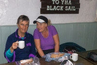A welcome lunch break in the famous Black Sail YHA