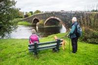 Hen Beck Bridge over the river Ehen in Wath Brow, Cleator Moor, Cumbria,