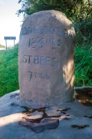Wainwright Coast to Coast path marker