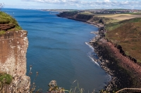 Coastline towards Whitehaven and the  Solway Firth