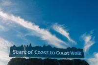 The Coast to Coast Walk, devised by Alfred Wainwright and we did it the wrong way!