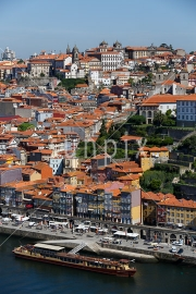 View over Porto and the River Douro