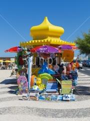 Seaside kiosk.