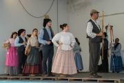 Folk dancing in Trás do Outeiro Portugal
