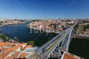 View over Porto and the River Douro
