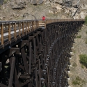 Old railroad Okanagan Canada