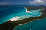 Australia Hill Whitsunday Island Hill Inlet from the air
