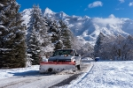 Snow plough, Utah,