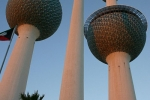 Kuwait Towers water storage and restaurant Kuwait City