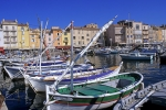 St Tropez harbour South of France Mediterranean